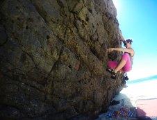 Bouldering at Paradise Beach