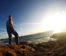 Port Stephens - sunset.