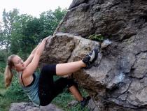 Chamonix bouldering